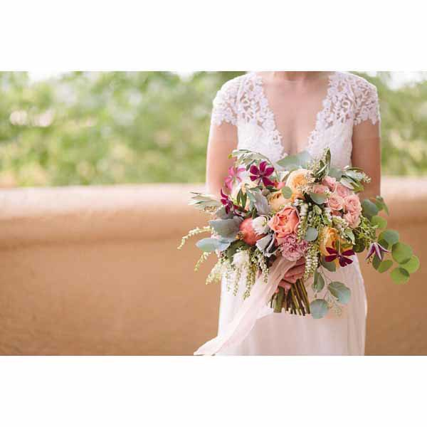 Bare Root Flora - Brian Leahy Photography - Bridal Bouquet Colorado Wedding