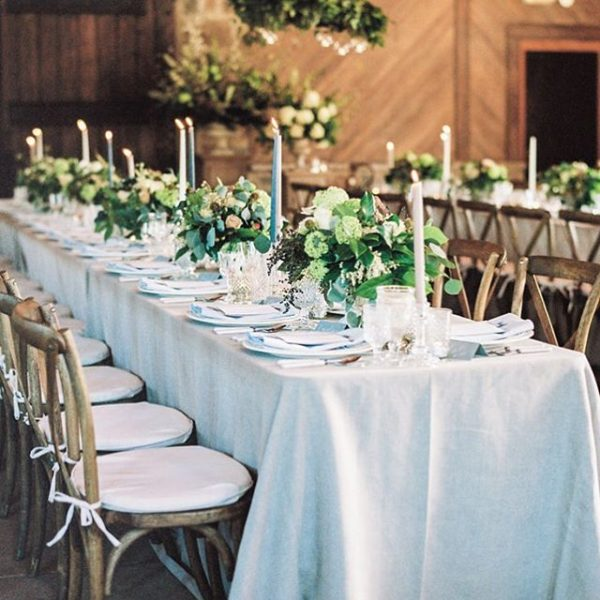 Kaleb Norman James - Long Reception Table