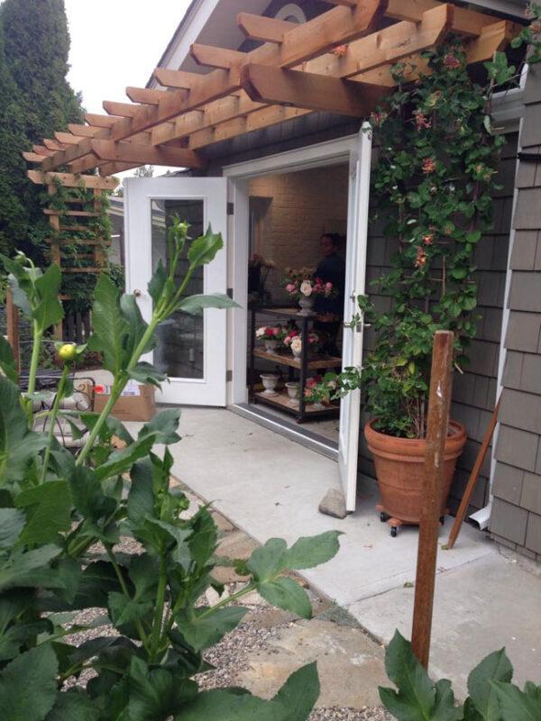 a new leaf floral design - studio door