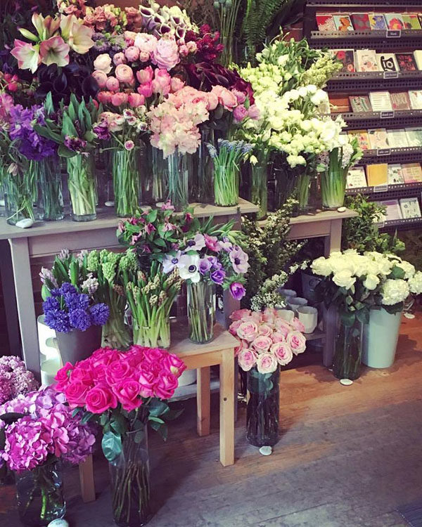 A Roundup Of Inspiring Flower Shops