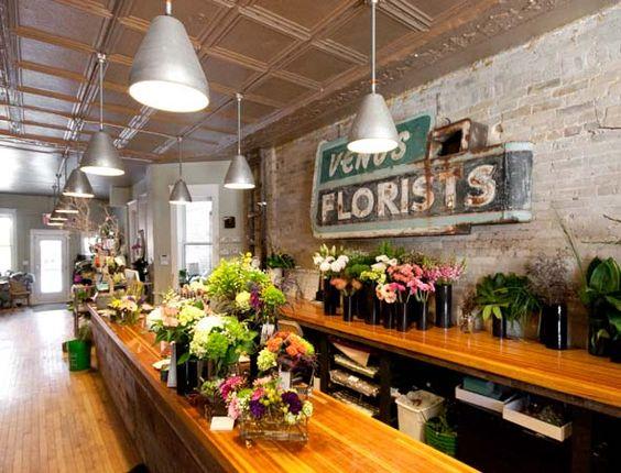 flower shop interier