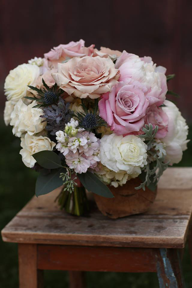 Floral Verde LLC - Cincinnati Florist - Rose bridal bouquet
