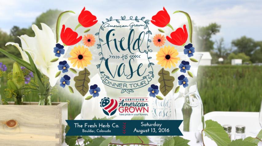 Fleur Friday – Field To Vase