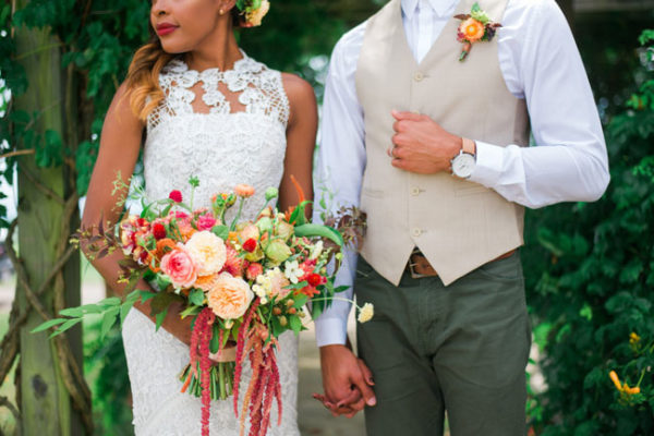 Buckeye Blooms - Connection Photography - Bridal Bouquet