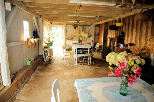 Buckeye Blooms - inside their design studio