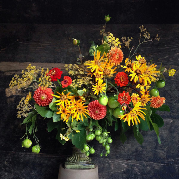Cultivated by Christin Geall is an urban flower farm and design studio in Victoria, Canada