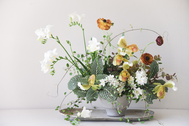Simple Flower Vase Arrangements