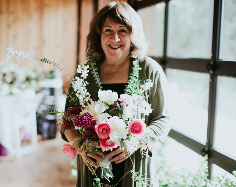 Meet Debby Mittelman, hostess of this upcoming Santa Fe Floral Design Workshop. Sullivan and Sullivan Photography