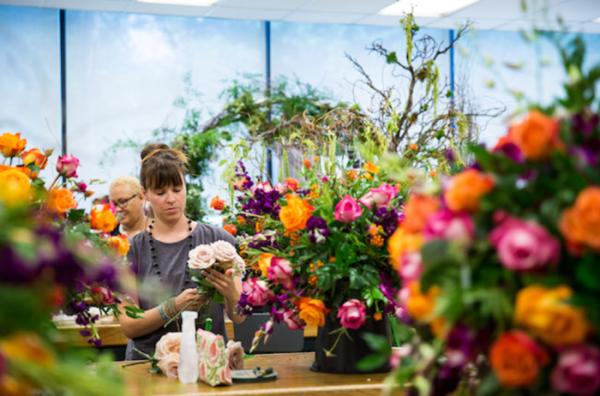 The New York Botanical Garden S Floral Design Summer Intensive