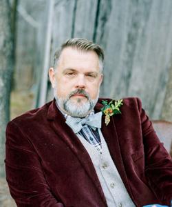 Brian Watson of Myrtie Blues will be teaching at florabundance design days 2019 in Santa Barbara, California