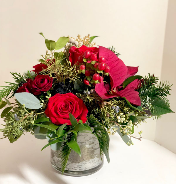 Round-up Of Poinsettia Floral Designs