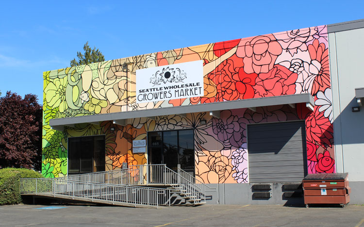 SEATTLE ARTIST & LOCAL FLOWER GROWERS TEAM UP ON FLORAL ...