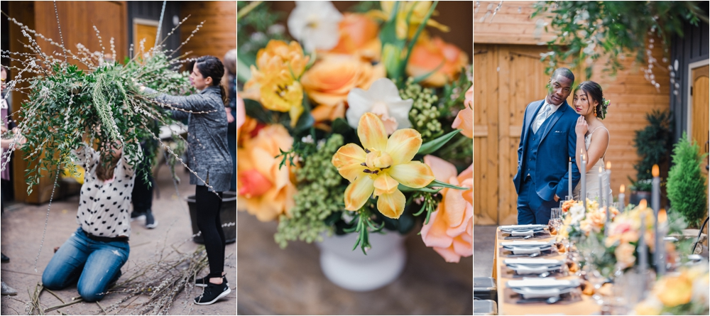 Floral Design Workshop in Los Angeles California with Caroline Tran Photography