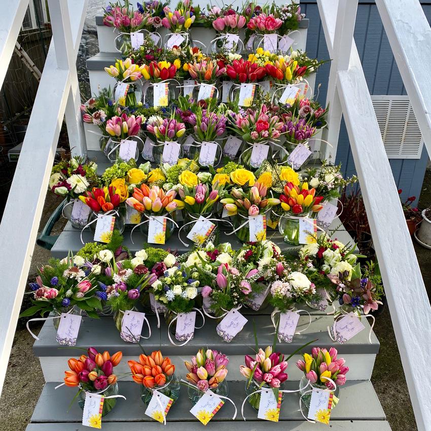 Fiori Floral Design Seattle - donation to nursing care homes