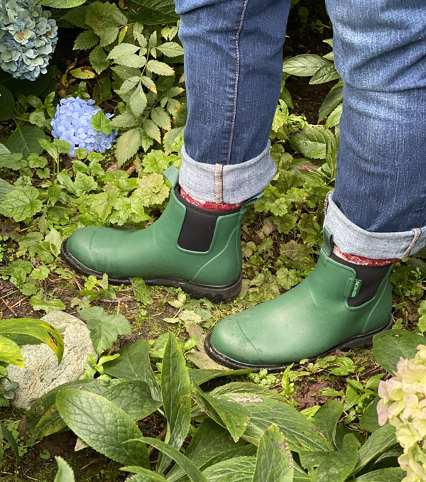 Merry People waterproof boots for gardening