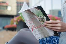 Falling into Flowers business book by alison ellis