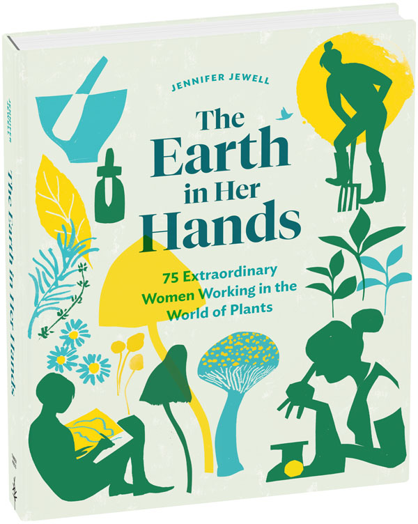 Jennifer Jewell's book the earth in her hands