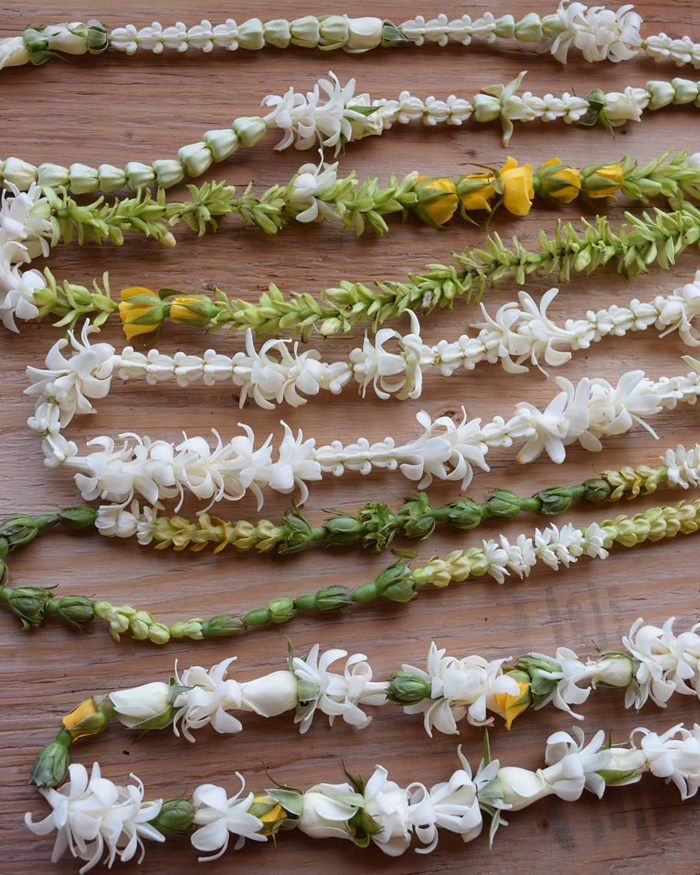 Grace Flowers Hawaii - variety of flower leis